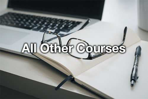 all other courses